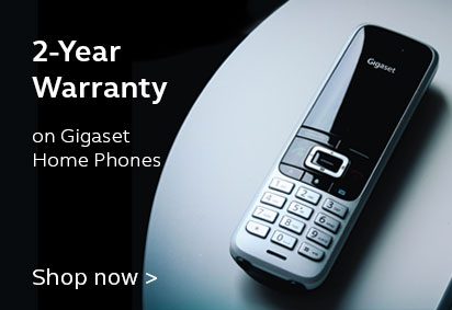 2 Year Warranty on All Gigaset