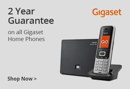2 Year Warranty on All Gigaset