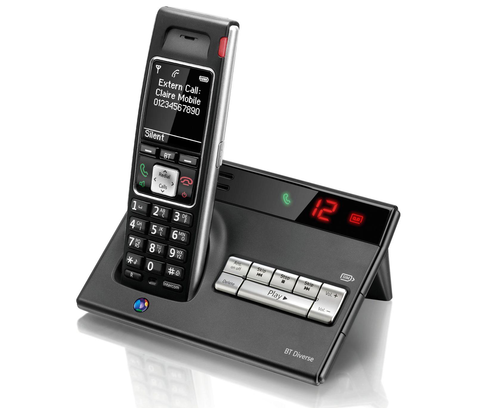Image of BT Diverse 7450 Plus Cordless Phone, Single Handset