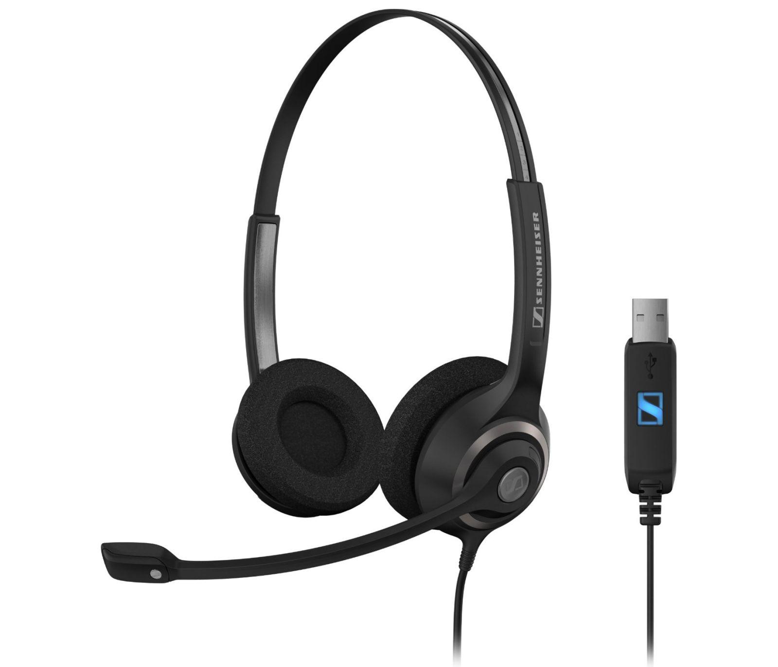Image of Sennheiser SC 260 USB MS II Corded Headset for PC