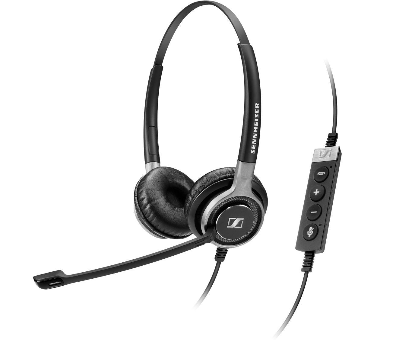 Image of Sennheiser SC 660 Stereo Corded Headset for Deskphones
