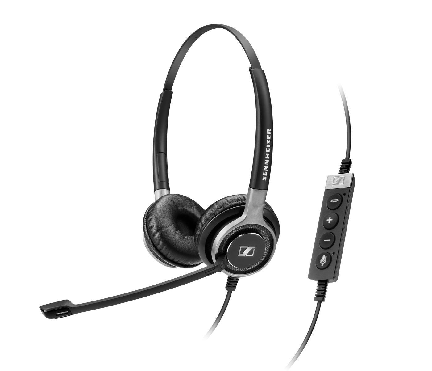 Image of Sennheiser SC 660 USB ML Duo Corded Headset for PC