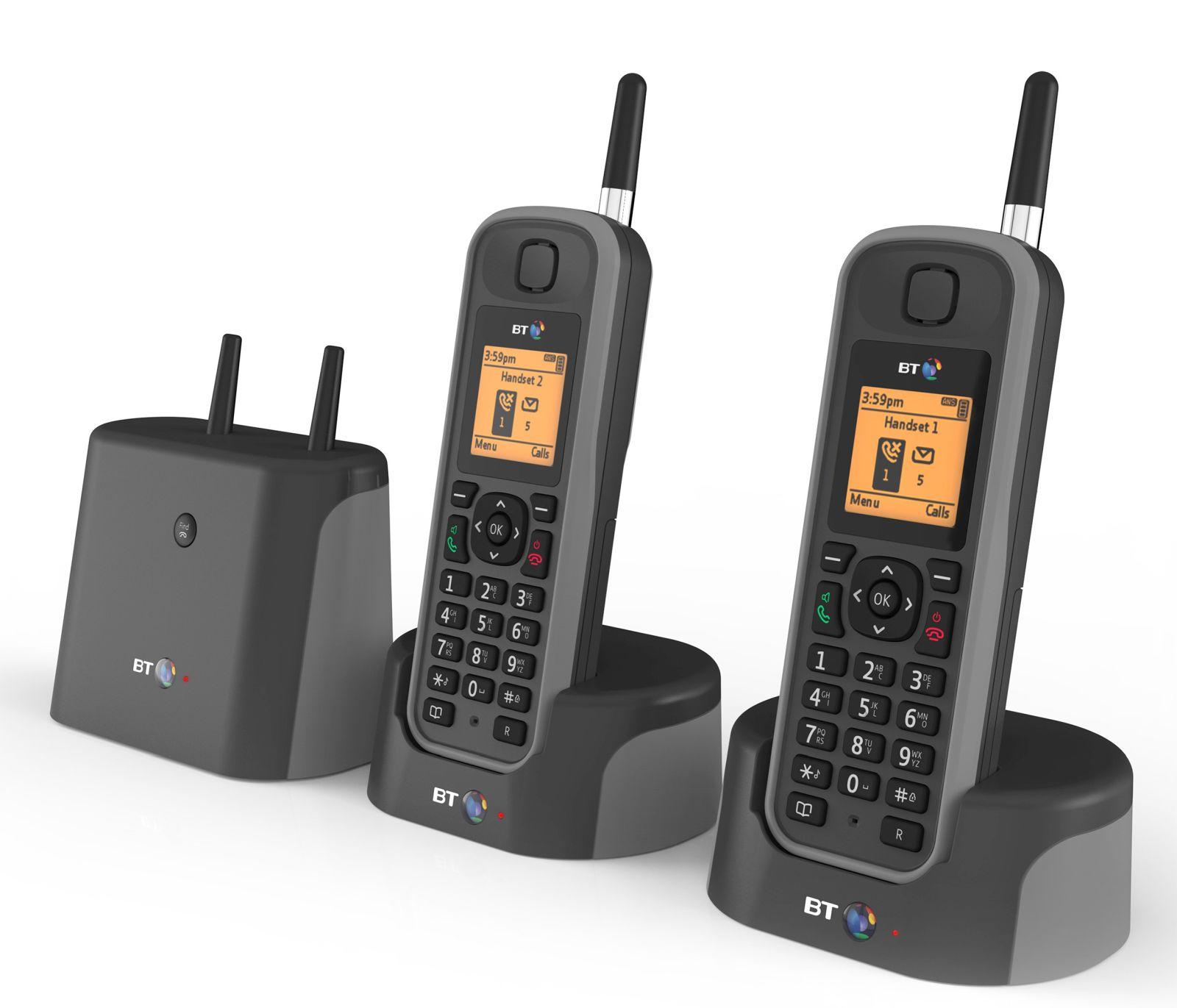 Image of BT Elements 1K Twin Long Range Cordless Telephone
