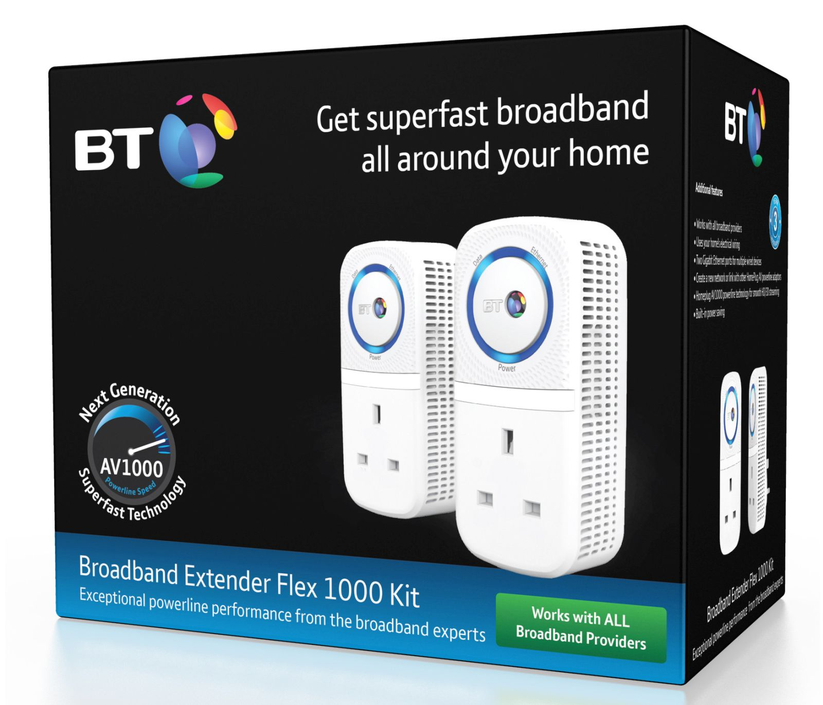 Image of BT Broadband Extender Flex 1000 Kit