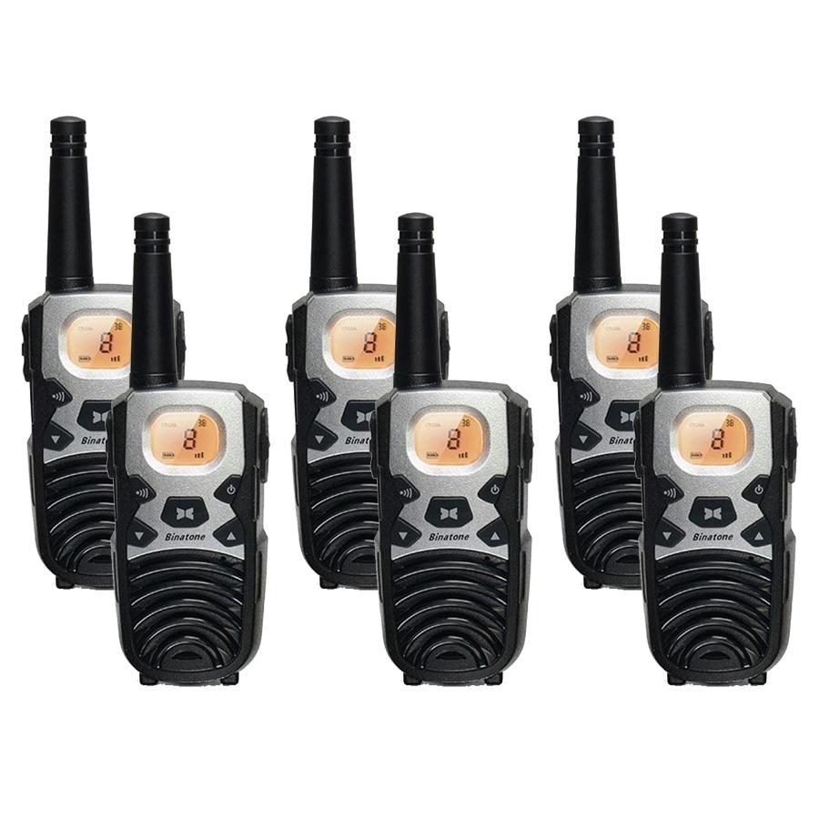 Image of Binatone Terrain 850 Six Pack Walkie Talkies