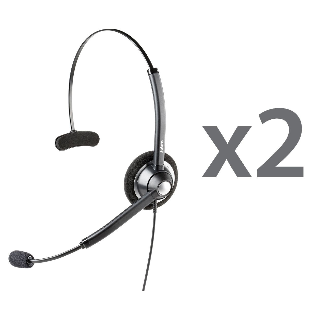 Jabra Biz 1900 Headset Twin | Buy with liGo