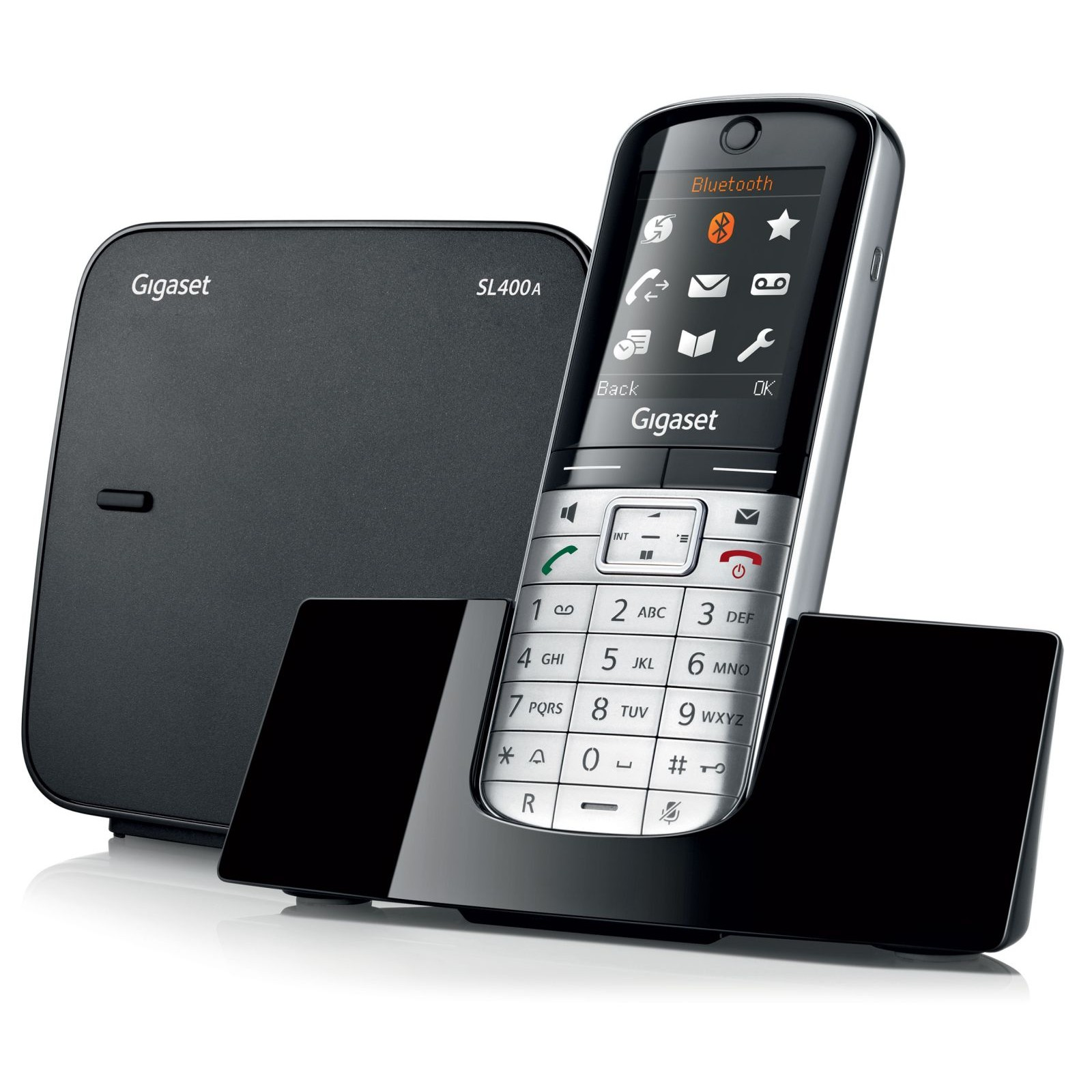buy siemens gigaset sl400a cordless phone. Black Bedroom Furniture Sets. Home Design Ideas