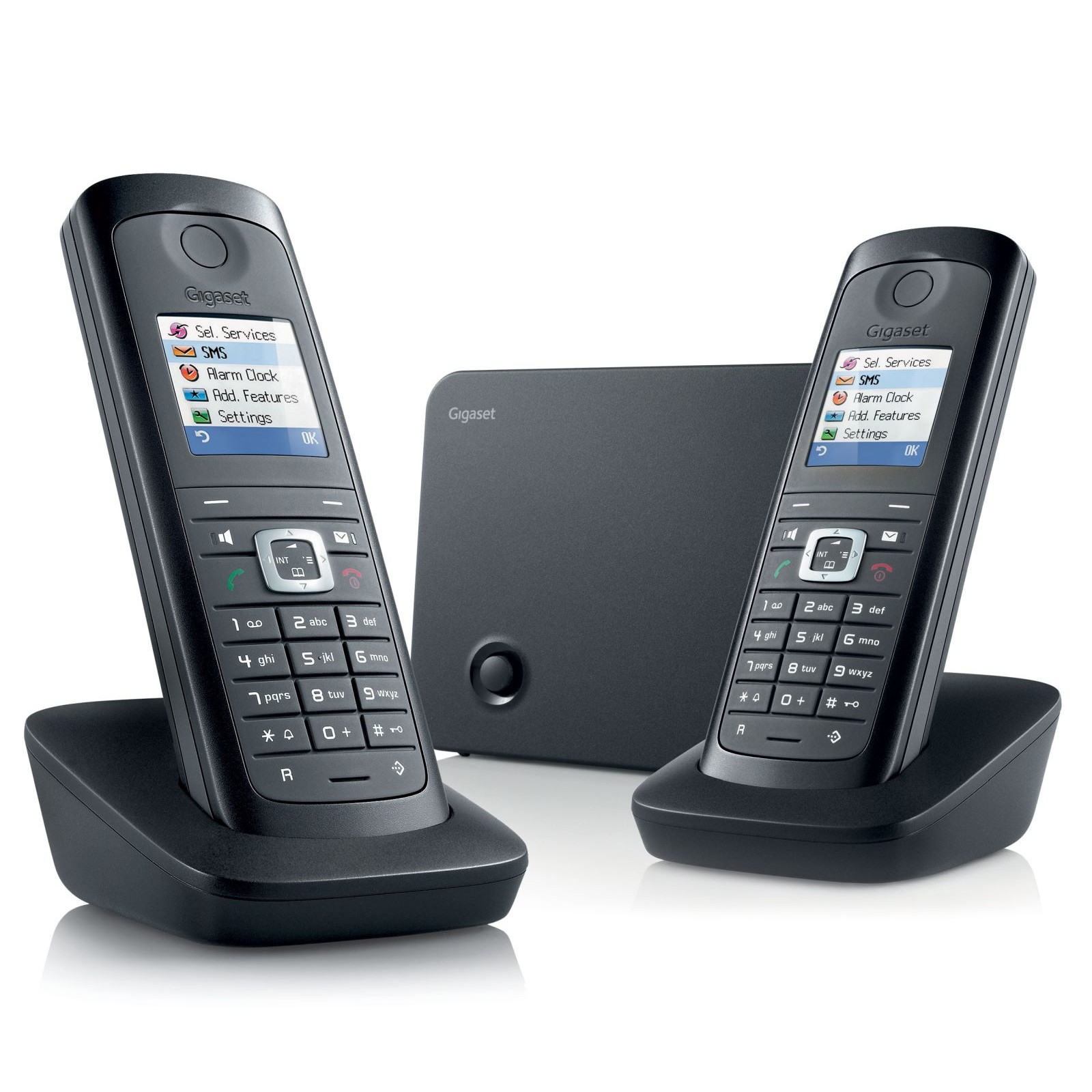 Siemens Gigaset E495 Twin Robust DECT Phones