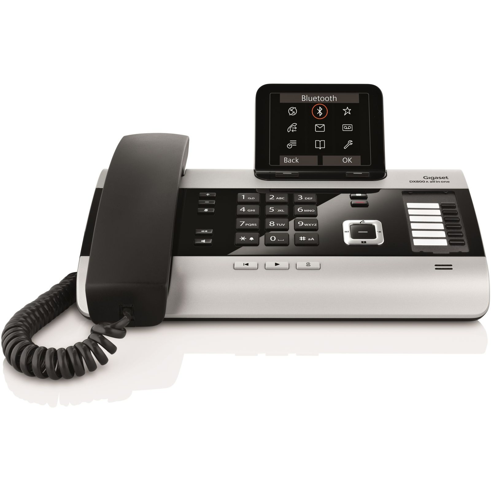 siemens gigaset dx800a multi line phone isdn voip. Black Bedroom Furniture Sets. Home Design Ideas