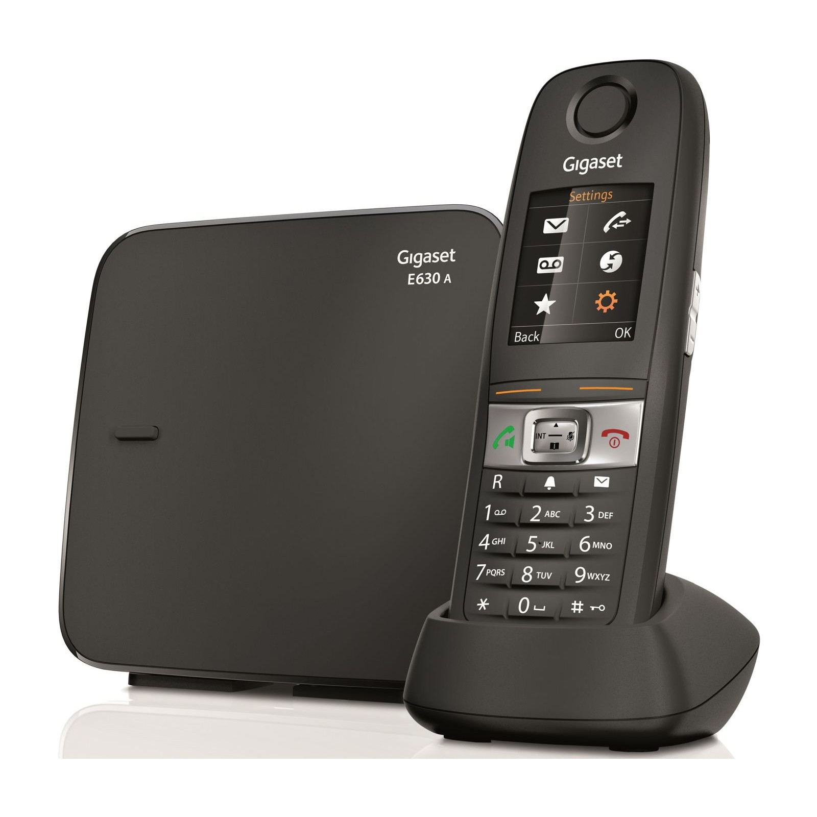 siemens gigaset e630a robust dect cordless phone ligo. Black Bedroom Furniture Sets. Home Design Ideas