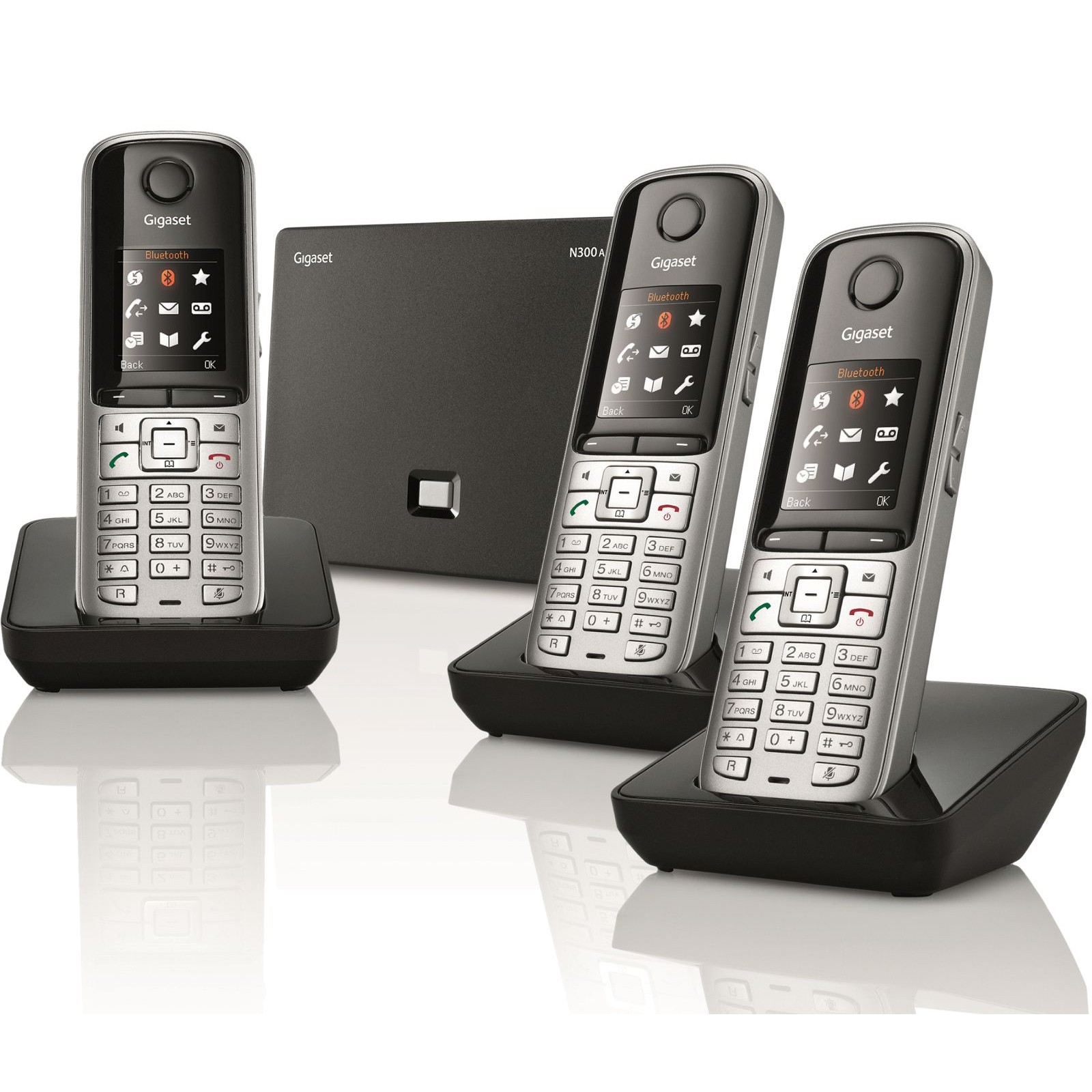 siemens gigaset s810a trio voip dect cordless phones ligo. Black Bedroom Furniture Sets. Home Design Ideas