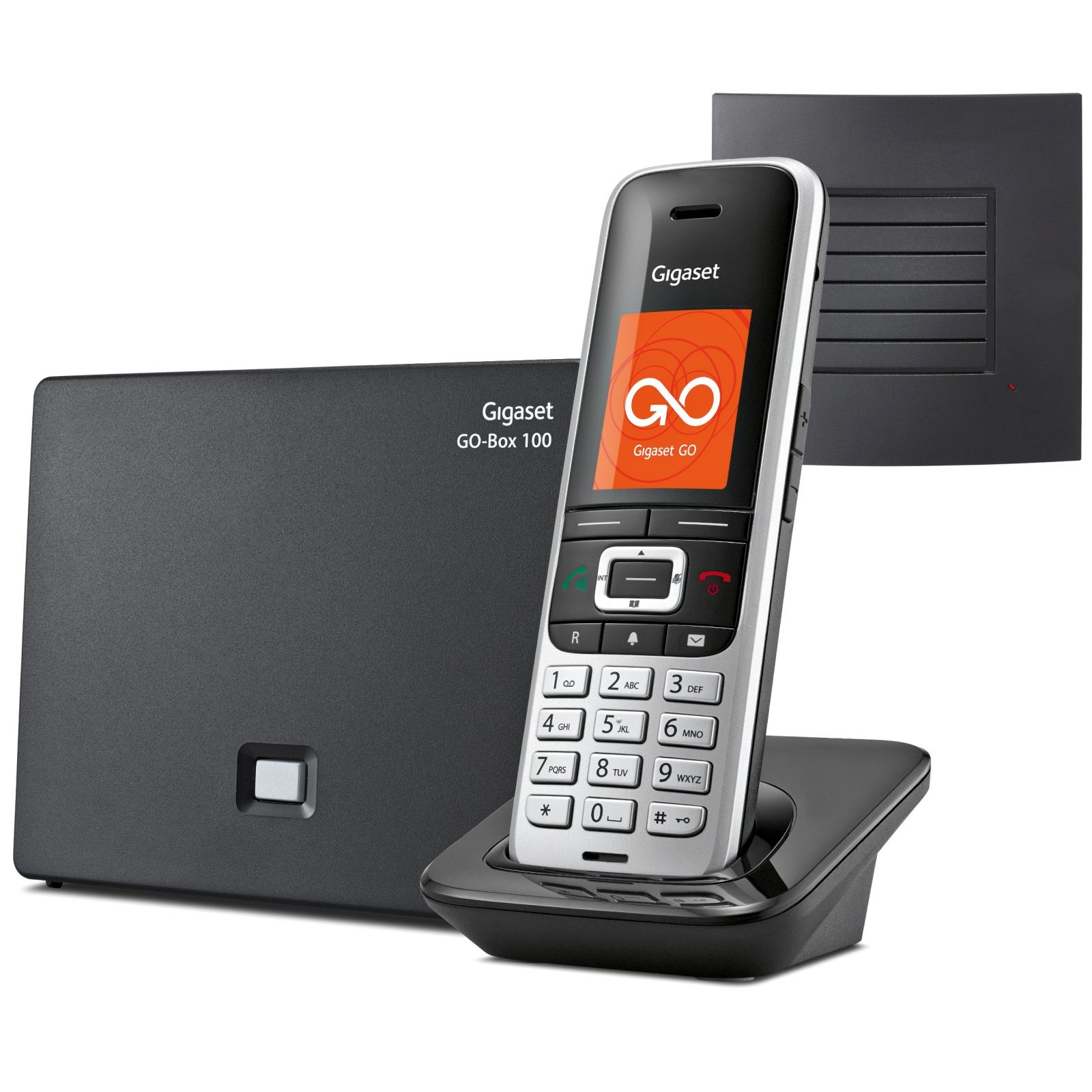 siemens gigaset s850a go long range cordless phone ligo. Black Bedroom Furniture Sets. Home Design Ideas