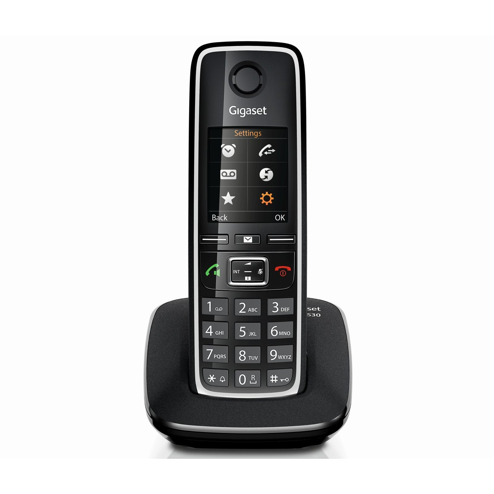 siemens gigaset c530 digital cordless phone ligo. Black Bedroom Furniture Sets. Home Design Ideas