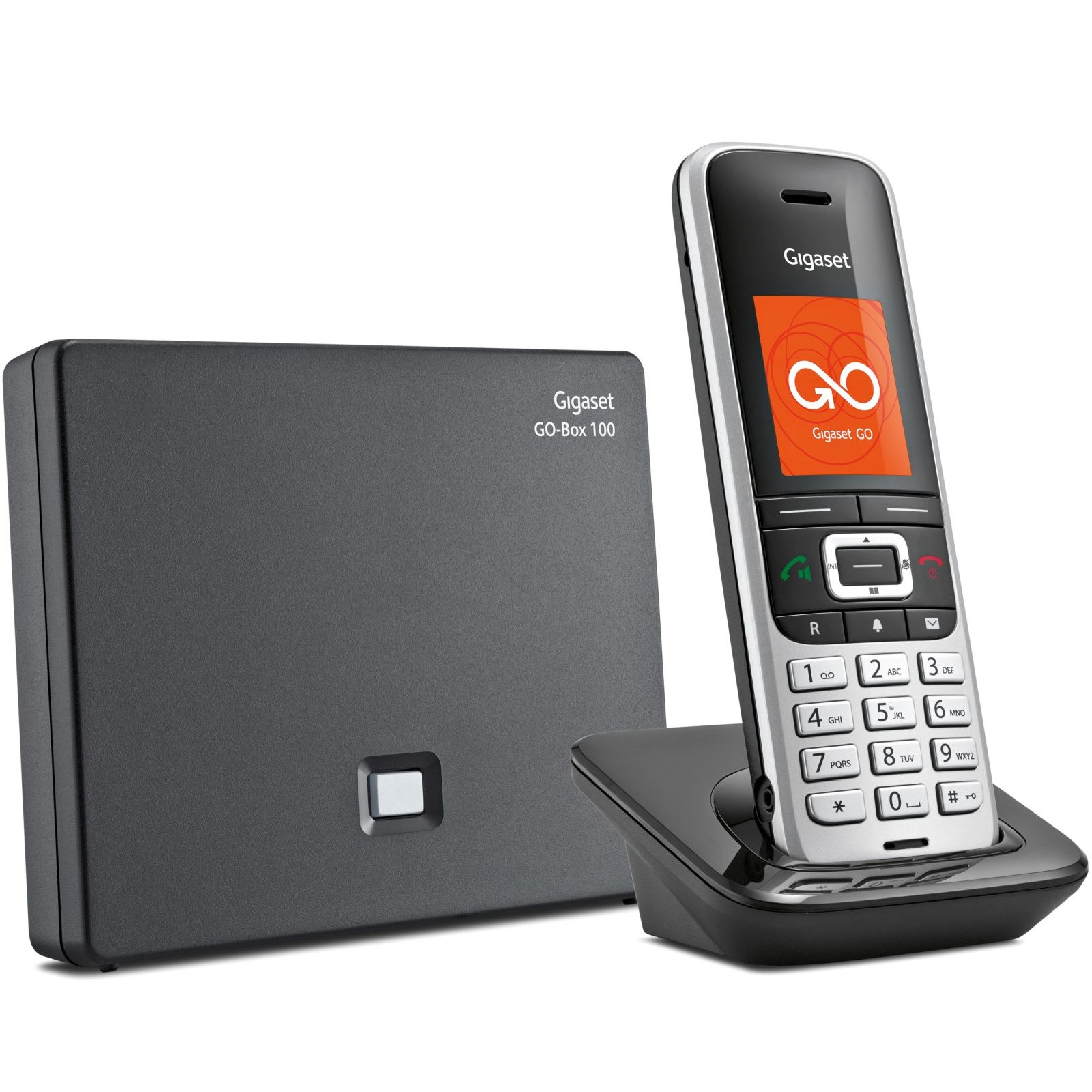 siemens gigaset s850a go cordless phone. Black Bedroom Furniture Sets. Home Design Ideas