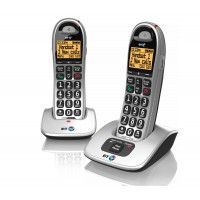 BT 4000 Big Button Cordless Phone, Twin Handset
