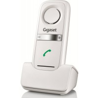 Siemens Gigaset L410 Hands Free DECT Clip - White (EU with UK Adaptor)