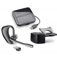Plantronics Voyager PRO UC Wireless Headset with MDA200 & HL10