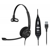 Sennheiser SC 230 USB CTRL Corded Headset for PC