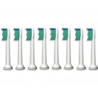 Philips Sonicare HX6018/26 ProResult Sonic Toothbrush Heads, Standard (8 pack)