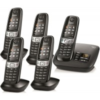 Siemens Gigaset C620A Cordless Phone, Five Handsets with Answer Machine