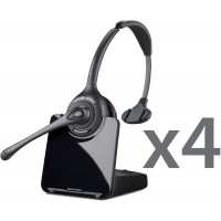 Plantronics CS510 Wireless Headset Quad