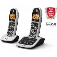 BT 4600 Cordless Phone, Twin Handset with Big Buttons