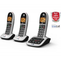 BT 4600 Cordless Phones, Trio Handset with Big Buttons