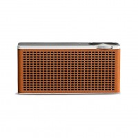 Geneva Touring XS Portable Bluetooth Speaker in Cognac