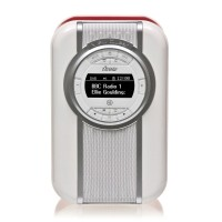 VQ Christie Retro DAB Radio & Bluetooth Speaker in Red