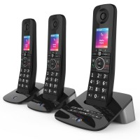 BT Premium Cordless Phone with Advanced Nuisance Call Blocker, Trio Handset - 1