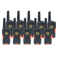 Cobra AM1035 12km Ten Pack Walkie Talkies