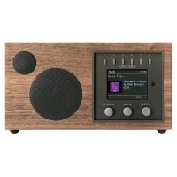 Como Audio Solo DAB+/FM Radio with Internet Radio & Multi-Room Functionality in Walnut