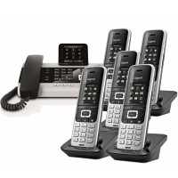 Siemens Gigaset DX800A Sextet with S850H IP DECT Phone