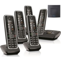 Siemens Gigaset C530A Quint Cordless Phones with Long Range