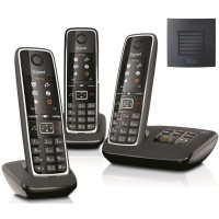 Siemens Gigaset C530A Trio Cordless Phones with Long Range