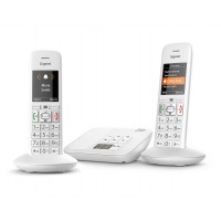 Siemens Gigaset Premium E370A Cordless Phone, Twin Handset with Big Buttons