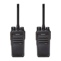 Hytera PD505LF Twin Pack License-Free Two-Way Radios