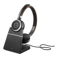 Jabra EVOLVE 65 UC Stereo Wireless Headset with Charging Stand