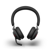 Jabra Evolve2 65 USB-A UC Stereo Wireless Headset in Black with Jabra Link380
