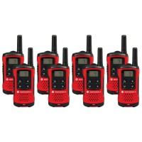 Motorola TLKR T40 Eight Pack Two-Way Radios