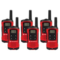 Motorola TLKR T40 Sextet Two-Way Radios