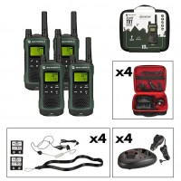 Motorola TLKR T81 Hunter Quad Long Range Two-Way Radios