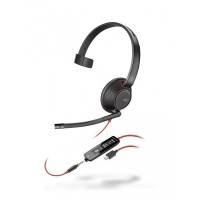 Plantronics Blackwire 5210 USB-C Mono Corded Headset with 3.5mm Connection
