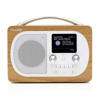 Pure Evoke H4 DAB/DAB+/FM Bluetooth Radio in Oak