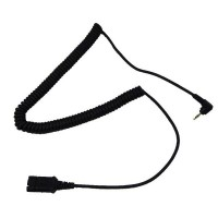 Agent QD to 2.5mm Headset Cable