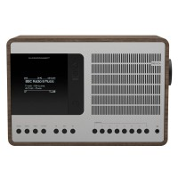 Revo SuperConnect DAB, FM & Internet Radio with Spotify and Bluetooth in Walnut/Silver