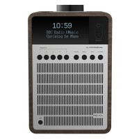 Revo SuperSignal DAB Radio with Bluetooth in Walnut/Silver