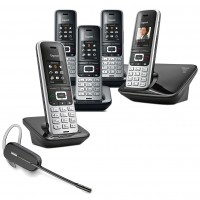 Siemens Gigaset S850A Quint with Wireless Headset