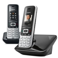 Siemens Gigaset Premium S850A Cordless Phone, Twin Handset with Answer Machine