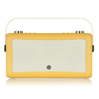 VQ Hepburn Portable DAB+/FM Radio & Bluetooth Speaker in Mustard